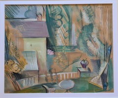 House and Garden, Cubist Homage a Matisse