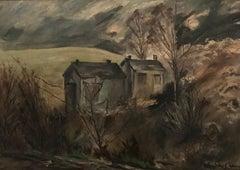 Paysage ombragé d'hiver -  Winter shaded landscape