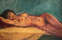 Florence lying down