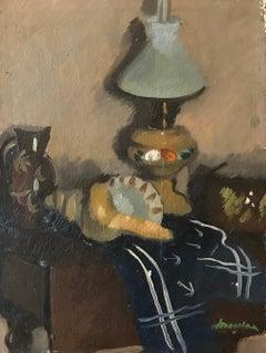 Vase Coquillage et lampe - Seashell vase and lamp