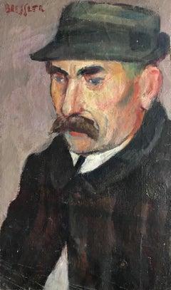 Portrait d'Homme au chapeau -  Portrait of man in hat