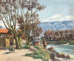 L'homme à la rivière - Man at the river