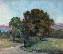 Paysage à Cartigny, Genève - Landscape at Cartigny, Geneva
