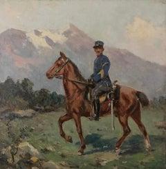 Officier de cavalerie - Cavalry officer