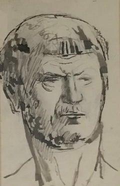 Tête à l'antique -  Antique head