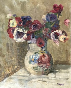 Bouquet en vase