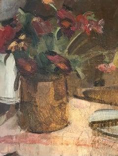 Bouquet dans un pot de terre cuite - Bouquet in terracotta pot