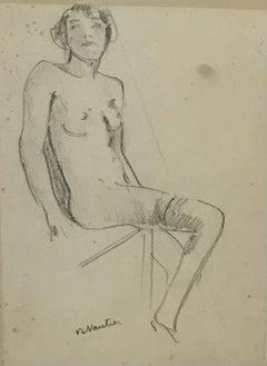 Nude sketch n°5