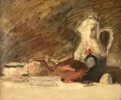 Nature morte aux théières - Still life with teapots