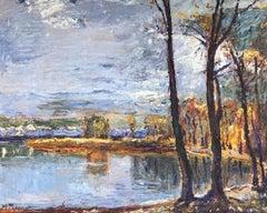 View of an autumn landscape