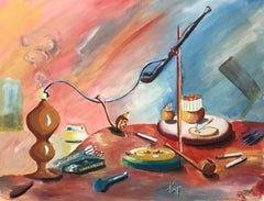 Narguilé, pipes et cigarettes - Hookah, pipes and cigarettes