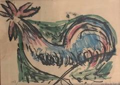 La poule - The hen
