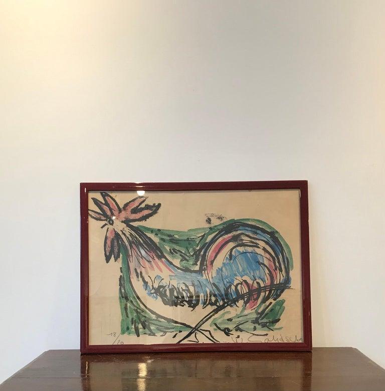 The hen - Print by William Goliasch