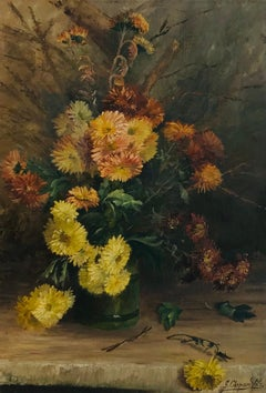 Bouquet of flowers in autumn