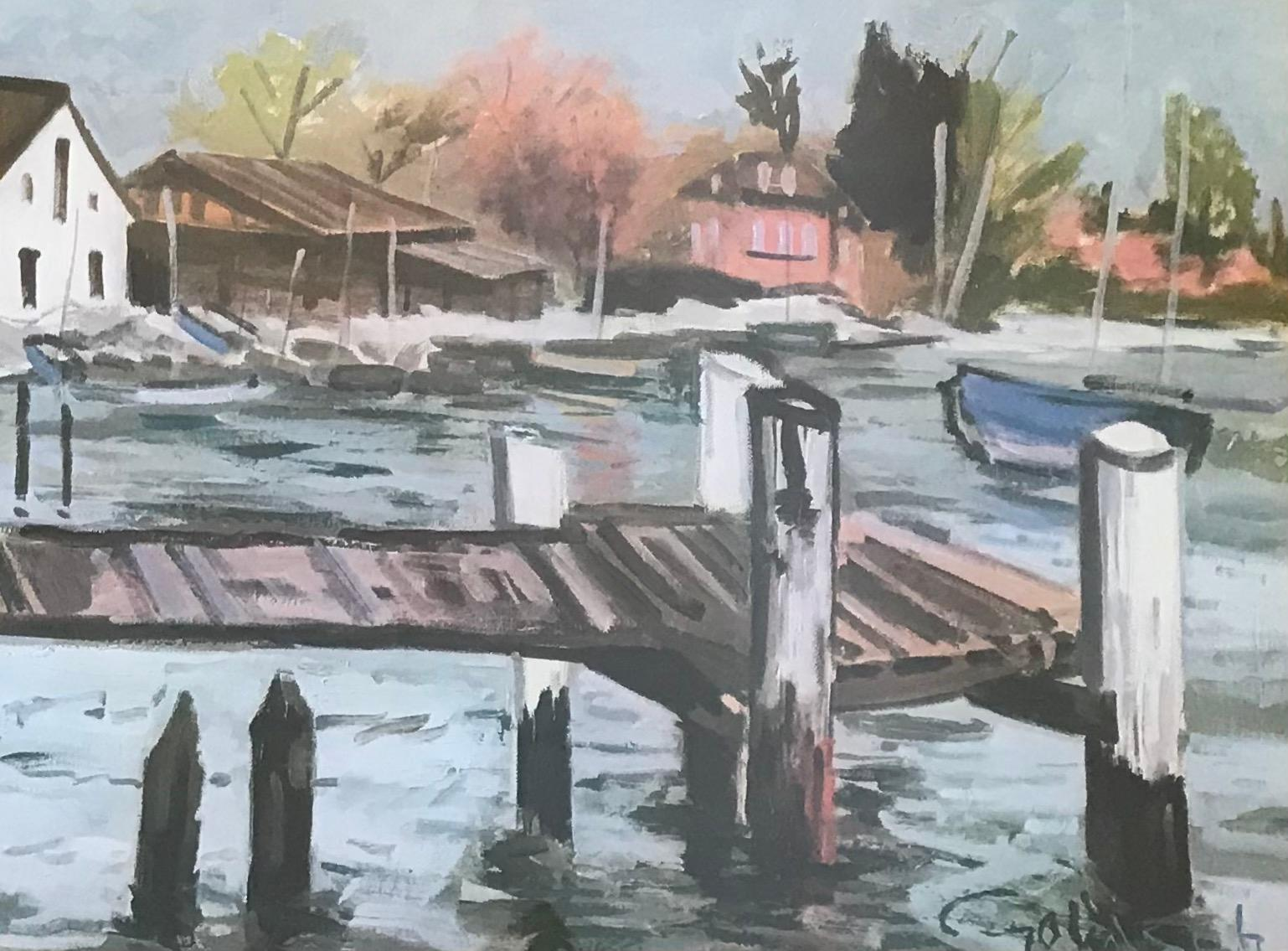 The pontoon