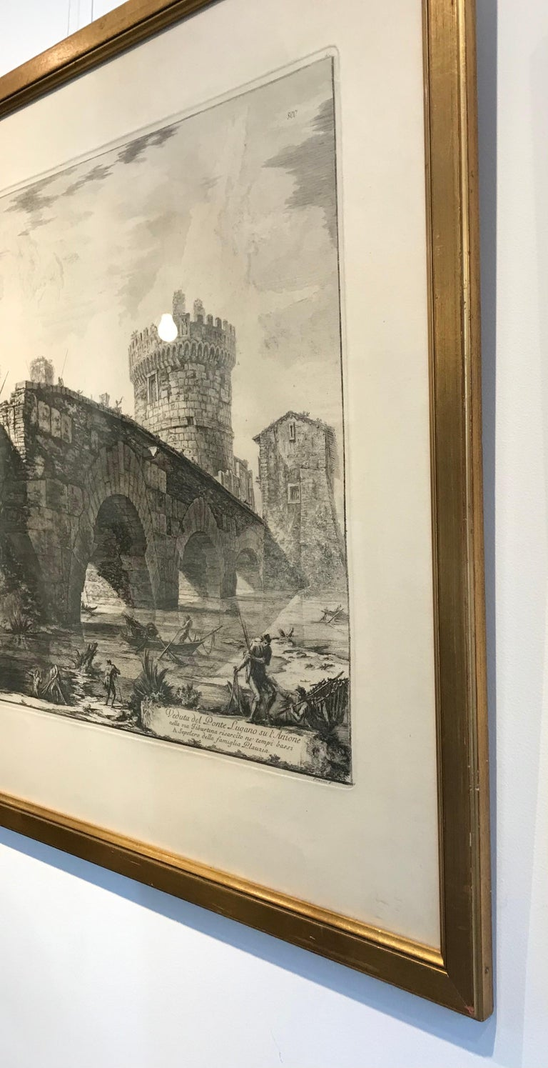 Francesco Piranesi was born in Rome, the eldest son of Giovanni Battista Piranesi and his wife, Angela Pasquini. He was educated in printmaking by his father, along with his older sister Laura (1755–1785), also a noted printmaker at the time of his