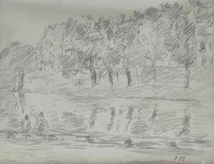 Academic Drawings and Watercolor Paintings