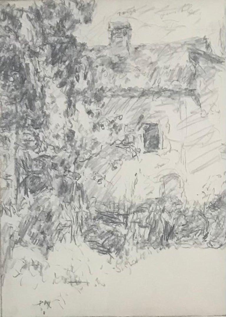Paul Mathey Landscape Art - House