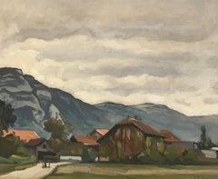 Village of Troinex, Switzerland