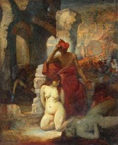 Mythological motive. Oil on canvas, 100х81 сm