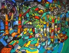Evening sun. 1999, oil on canvas, 70x90 cm