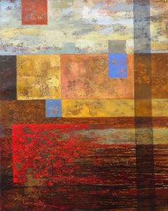 April opus. 2018, canvas, oil, 100x80 cm