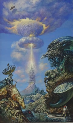 Fantasy. 1995, acrylic on canvas, 100x60 cm