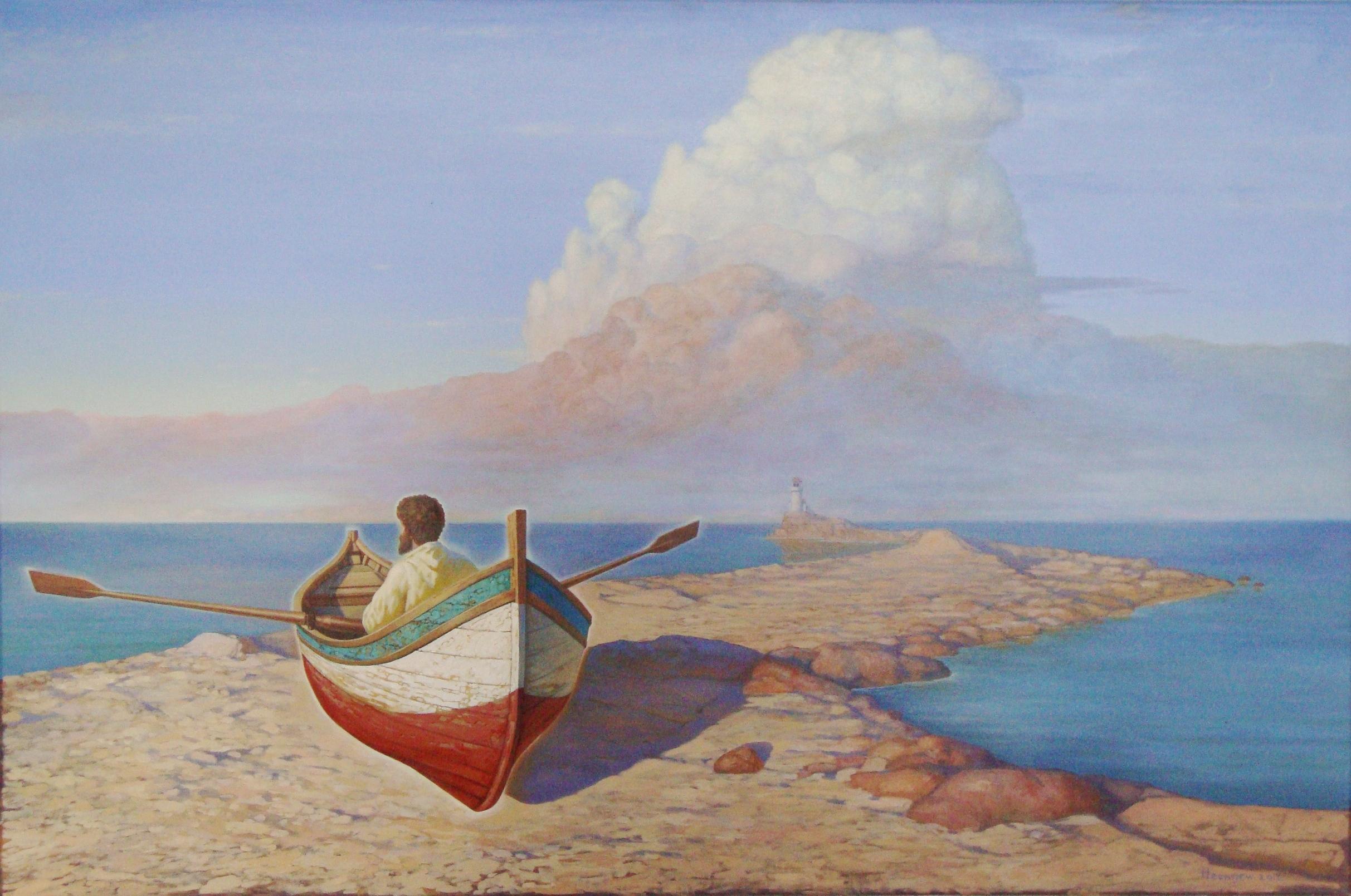 Stroll. 2012, oil on canvas, 80x120 cm
