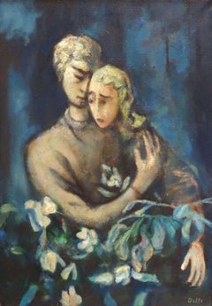 Sister. 1991, canvas, oil, 100x70 cm