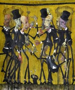 Stock Exchange. 2002, oil on canvas, 180x150 cm