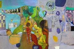 Egypt. 1994, oil on canvas, 80x120 cm