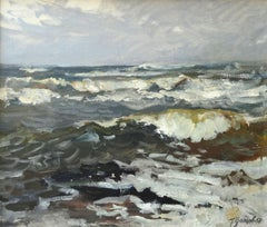 Sea. Oil on canvas, 61x70 cm