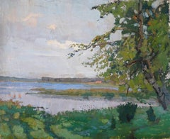 Lake. Oil on canvas, 65x79 cm
