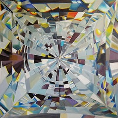 Gemstone. 2014. Oil on canvas, 120x120 cm