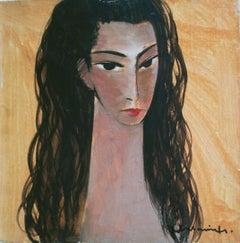 Bella. Oil on canvas, 50x50 cm