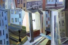 Window. Oil on canvas, 80x120 cm