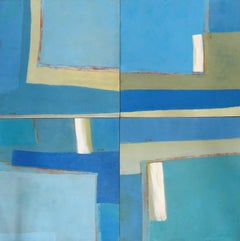 Sky directions. 2003, modular painting, 5 parts