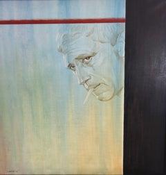 Sight. Vysotsky. 2009, oil on canvas, 80x80 cm