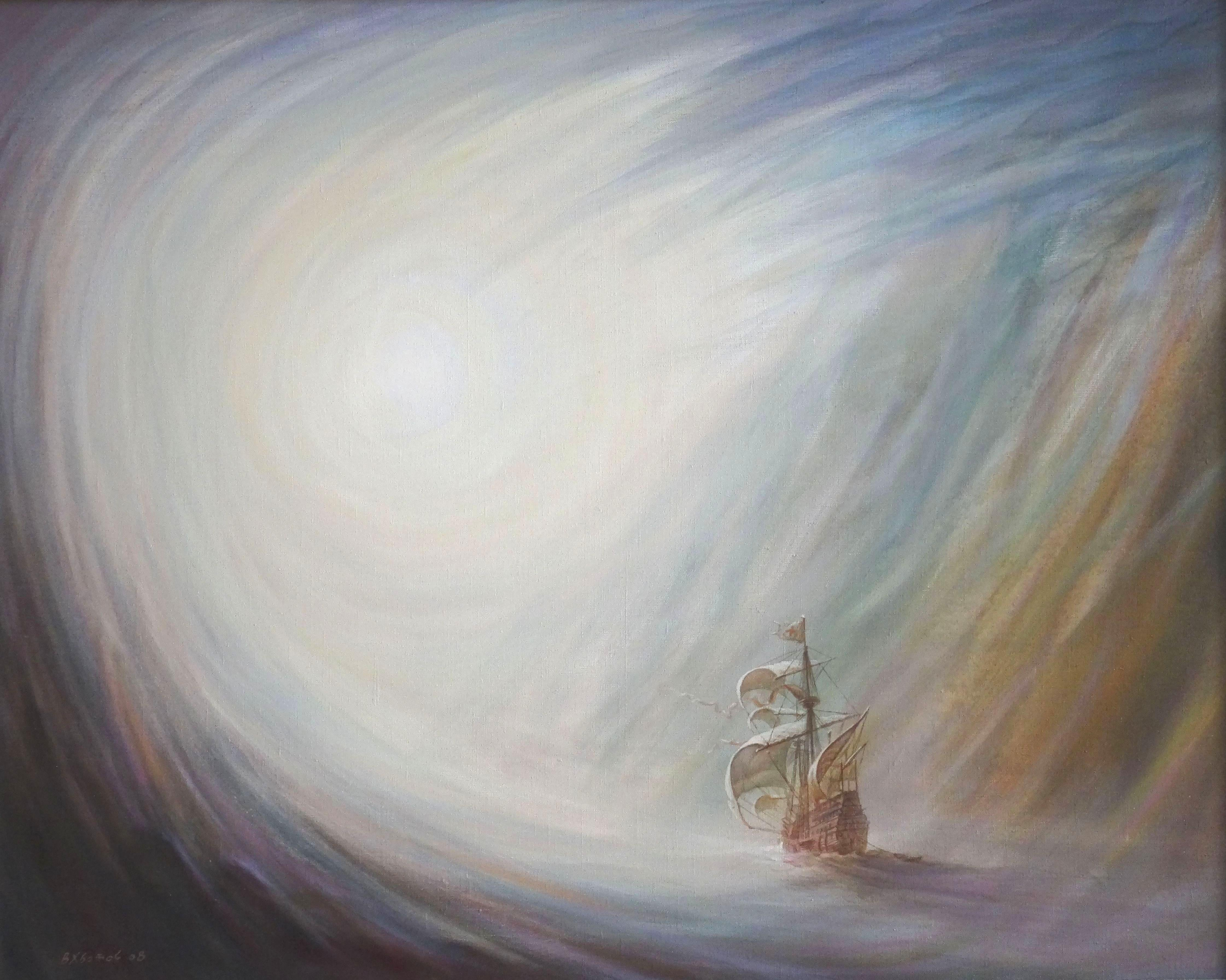 Fate. 2008, oil on canvas, 100x80 cm