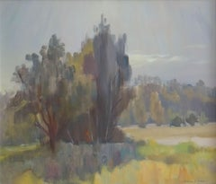 Landscape. 2002, oil on cardboard, 60x70 cm