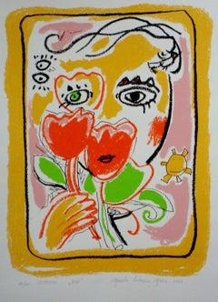 Zon. 2002, paper, screen print, 10/100, 56x42 cm