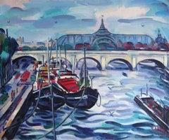 Grand Palace. Paris. Oil on canvas, 50x60 cm