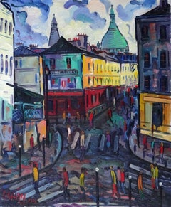 Montmartre. Oil on canvas, 61x50 сm