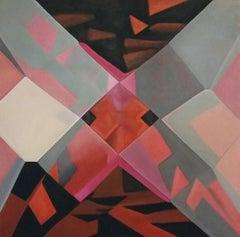 Ruby. 2014, oil on canvas 130 x 130 cm