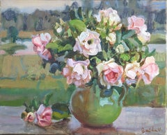 Roses. 2015, oil on canvas, 33x41 cm