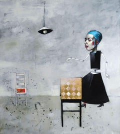 xxx. Oil on canvas, 80x90 cm