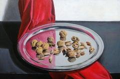 Walnuts. 2019. Oil on canvas, 40x60 cm