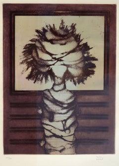 Composition. 43/60. 1985. Paper, lithography, 40x30 cm