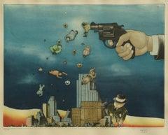 XXX. 43/100., 1985. Paper, lithography, 38x49 cm