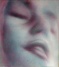 Erotic movie. 2003, author`s technique on panel, 57x49,5 cm